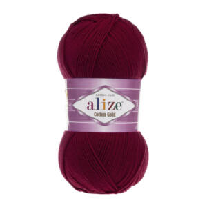 Alize Cotton Gold - BORDÓ