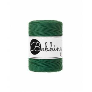 Bobbiny_makramé_fonal_1,5 mm_pine_green