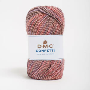 DMC Confetti - 554 Piros-barna