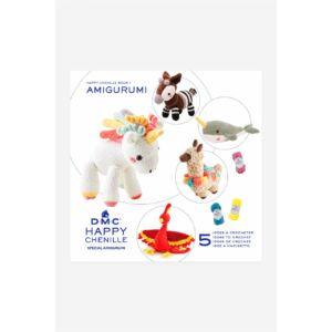 DMC Happy Chenille mintafüzet - fantáziád állatai