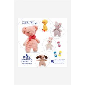 DMC Happy Chenille mintafüzet - cuki állatkák
