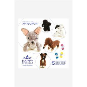 DMC Happy Chenille mintafüzet - kutyusok