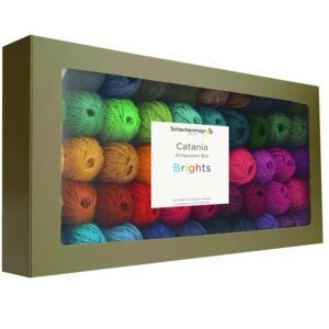 catania amigurumi box bright colours