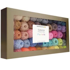 catania amigurumi box pastel colours