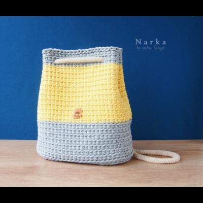 Nyári hátizsák horgoló workshop - Narka shop szervezésében - 2020.07.18. - 10:00-13:00