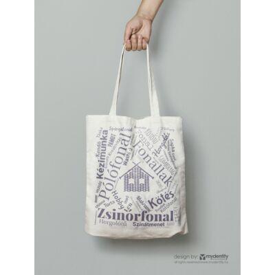 FonalLak textil táska