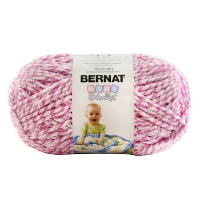 Bernat takarófonal - Baby - Pink Twist