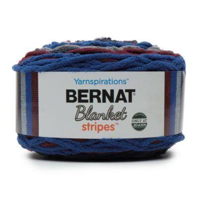 Bernat Blanket Stripes - Midnight Trail
