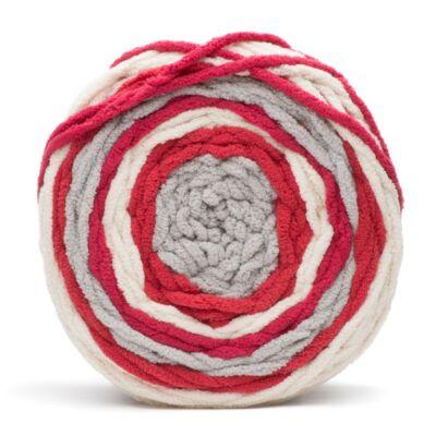 Bernat Blanket Stripes - Red Alert