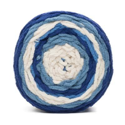 Bernat Blanket Stripes - Blue moon