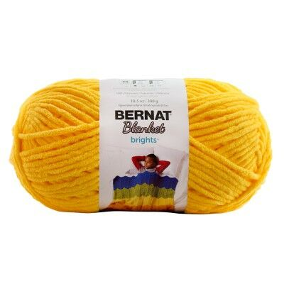 Bernat Blanket takarófonal - School bus Yellow