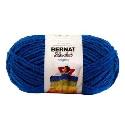 Bernat Blanket takarófonal - Royal Blue