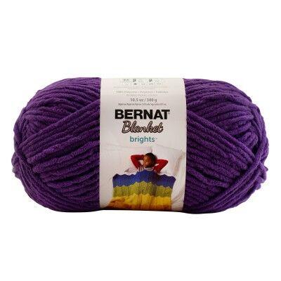 Bernat Blanket takarófonal - Pow Purple