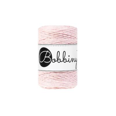 Bobbiny Baby makramé fonal 1,5 mm - Baby Pink