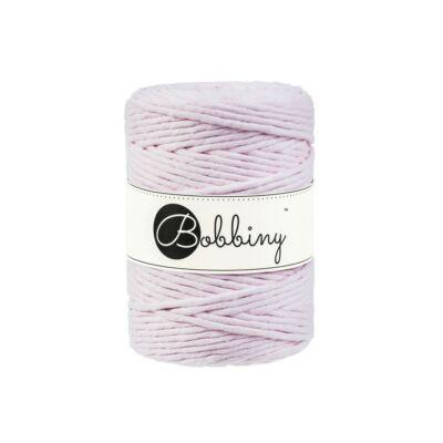 Bobbiny makramé fonal 5 mm - Baby pink