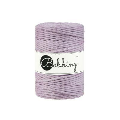 Bobbiny makramé fonal 5 mm - Dusty pink