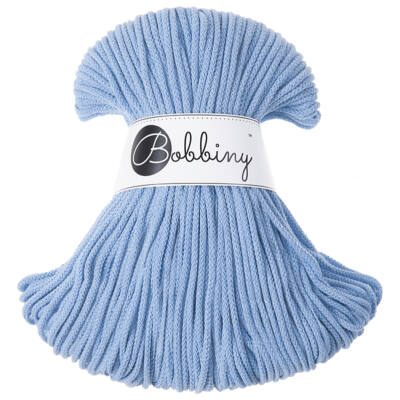 Bobbiny Zsinórfonal Junior 3 mm- 100 m - Baby Blue