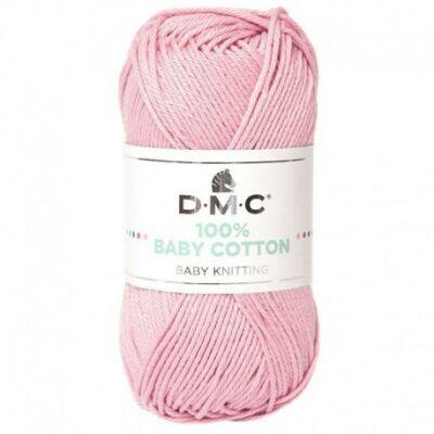 DMC 100% Baby Cotton - babarózsa