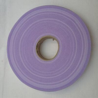 Fettuccia -  halvány lila fényes csíkos