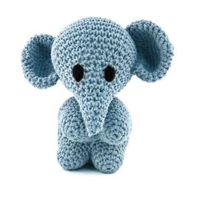 Hoooked amigurumi szett - Mo az elefánt - Provance