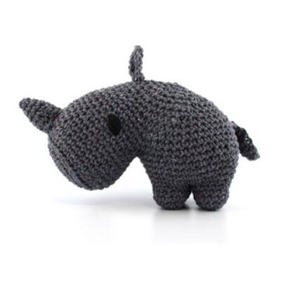 Hoooked amigurumi szett -Dex - Rhino - Lava
