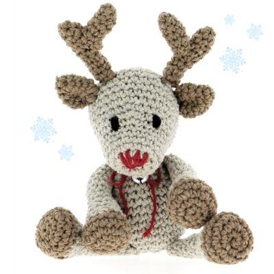 Hoooked amigurumi szett - Rudolf, a rénszarvas