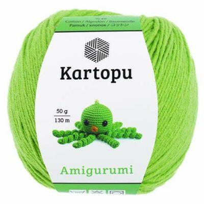 Amigurumi fonal -  fűzöld