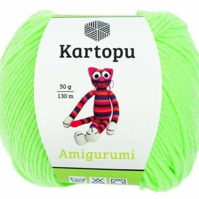 Amigurumi fonal -  világos zöld