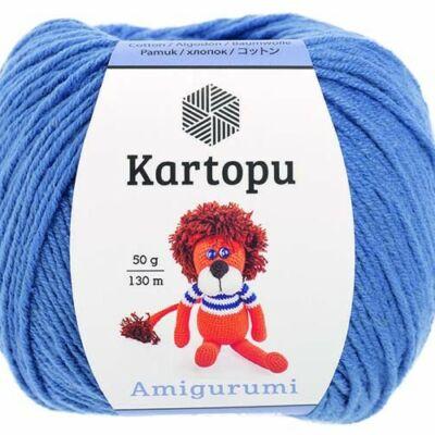 Amigurumi fonal -  kék