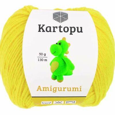 Amigurumi fonal -  citromsárga