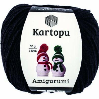 Amigurumi fonal -  fekete