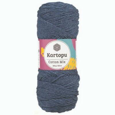 Kartopu Cotton mix cekkerfonal - tengerészkék