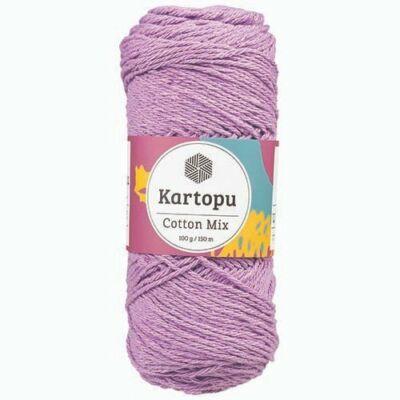 Kartopu Cotton mix cekkerfonal - levendula