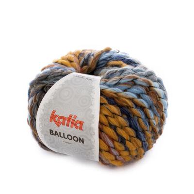 Katia Balloon - barna-kék árnyalatos