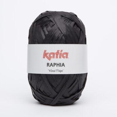 Katia Raphia fonal - fekete
