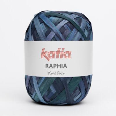 Katia Raphia fonal - sötétkék árnyalatok