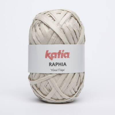 Katia Raphia fonal - halvány bézs