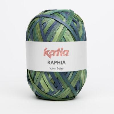 Katia Raphia fonal - zöld árnyalatok