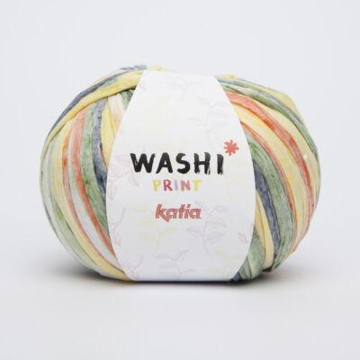 Katia Washi Print fonal - kanári