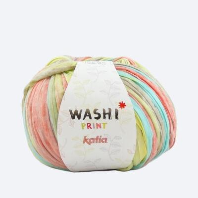 Katia Washi Print fonal - lime fun
