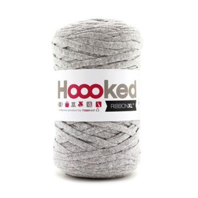 Hoooked szalagfonal - Silver Grey- Ribbon XL