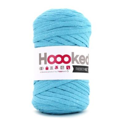 Hoooked szalagfonal  - Sea Blue- Ribbon XL