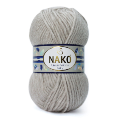 Nako Mohair Delicate Bulky - Beige
