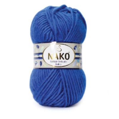 Nako Mohair Delicate Bulky - Királykék