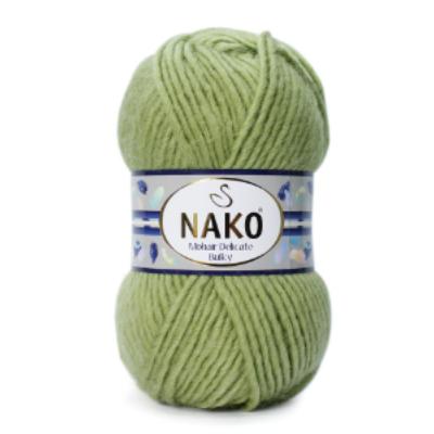 Nako Mohair Delicate Bulky - Mohazöld