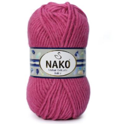 Nako Mohair Delicate Bulky - Málna