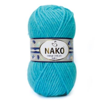 Nako Mohair Delicate Bulky - Türkisz