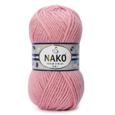 Nako Mohair Delicate Bulky - Vénrózsa