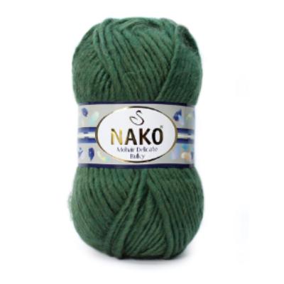 Nako Mohair Delicate Bulky - Erdőzöld