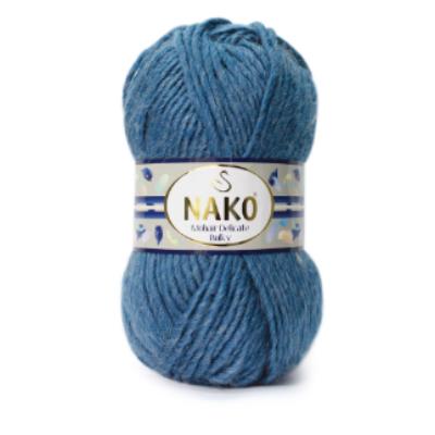 Nako Mohair Delicate Bulky - Kék